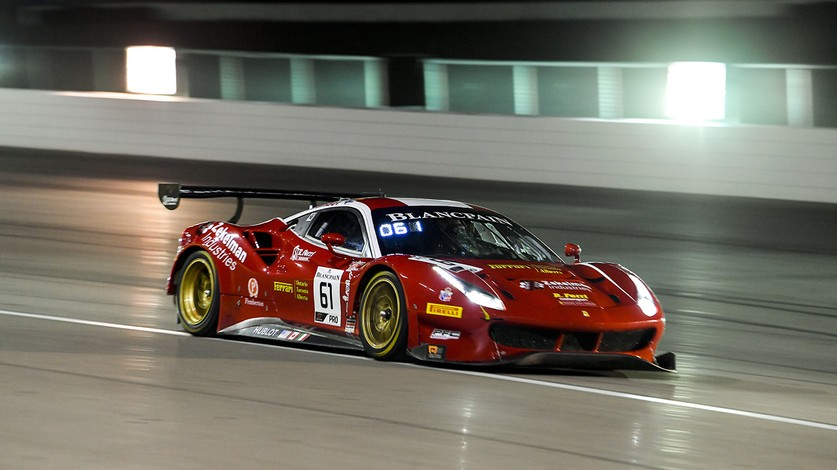 Blancpain GT World Challenge Americas - Molina front row leads Ferrari qualifying in Las Vegas