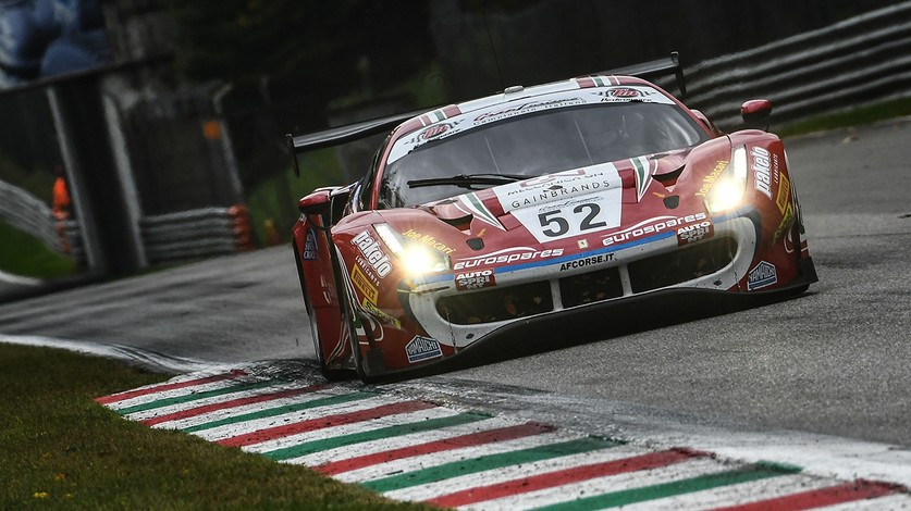 Campionato Italiano GT - All-Ferrari podium in Pro-Am at Monza