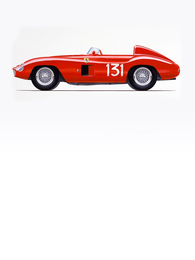 Ferrari 500 Mondial: The first of these cars was built by a young coachbuilder from Modena called Scaglietti