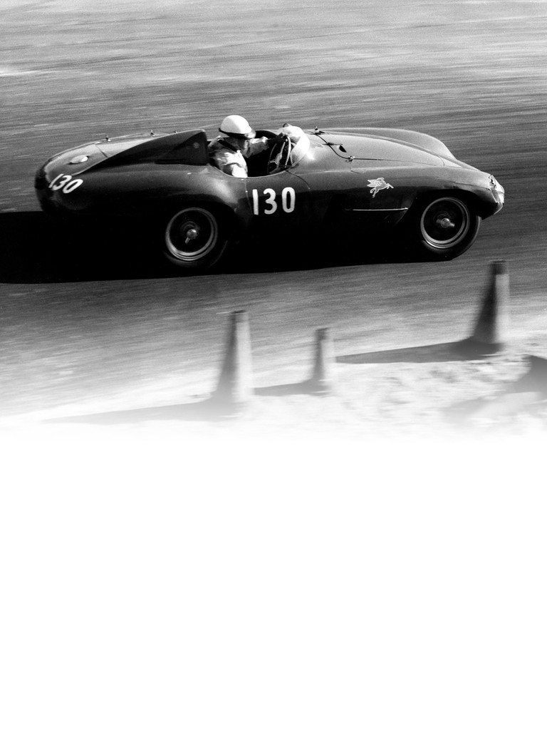 Ferrari 750 monza: The prototype made its debut at Monza in 1954