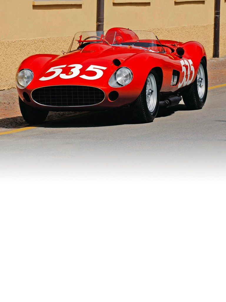 The Ferrari 315 S signalled a major advance on the single camshaft engine