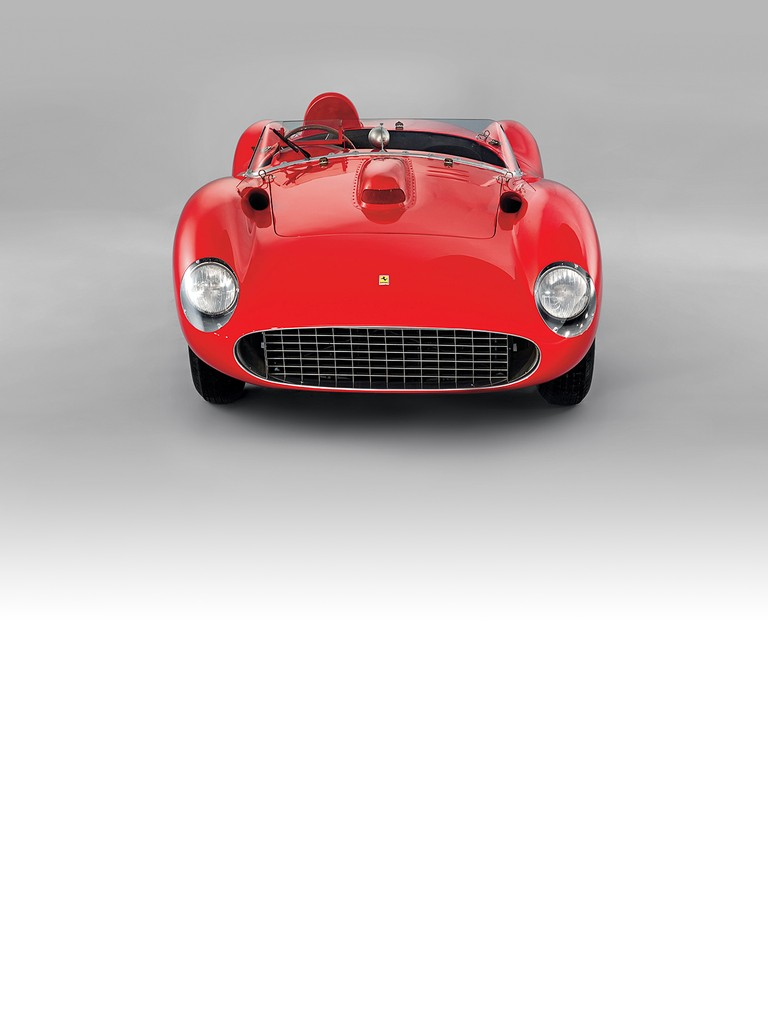 The Ferrari 335 S made its debut at the infamous 1957 Mille Miglia with Alfonso De Portago