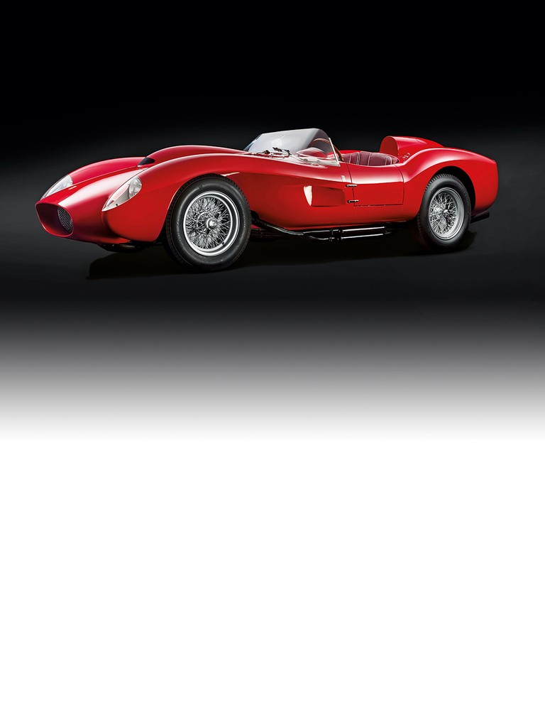 The Ferrari 250 Testa Rossa was designed to offer customers already racing with the 500 TRC a much more powerful engine