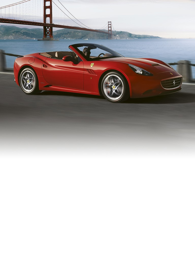 The Ferrari California  satisfies even the most demanding of owners in term of its superb vehicle dynamics and driving pleasure.