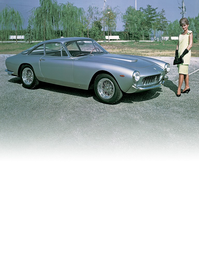 The prototype of the Ferrari 250 GT Berlinetta Lusso was presented at the 1962 Paris Motor Show