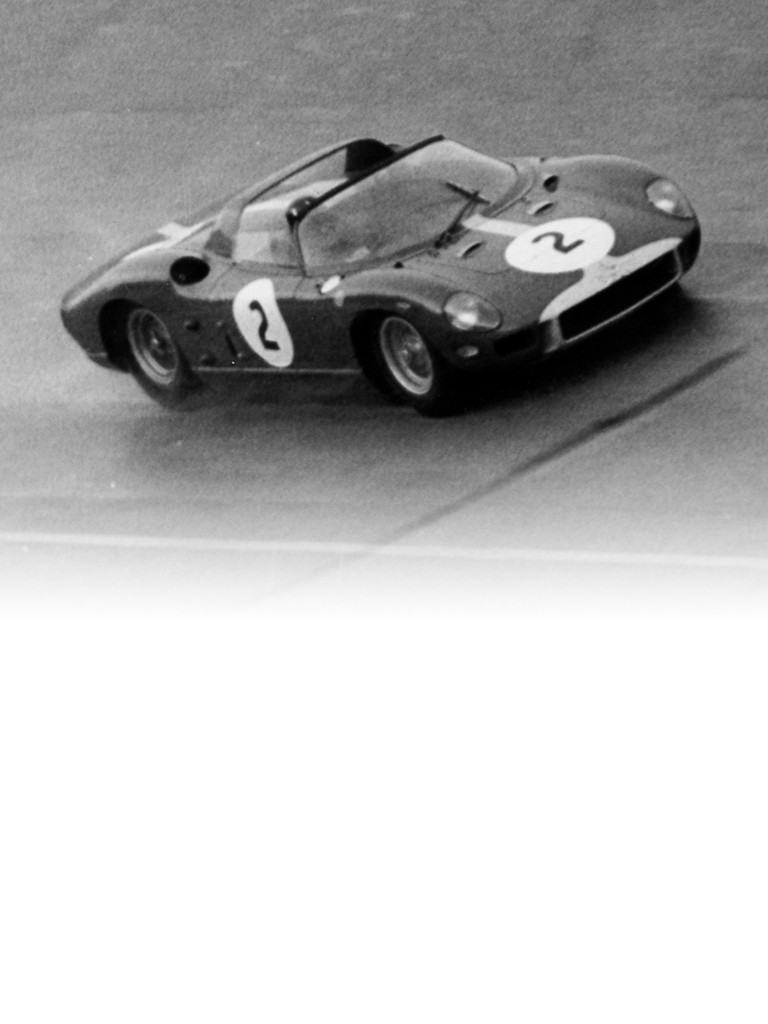 Ferrari 330 P: The versatile four-litre V12 made its first appearance in 1964 in the sports-prototypes following the three-litre 250 and 3.3-litre 275 versions.