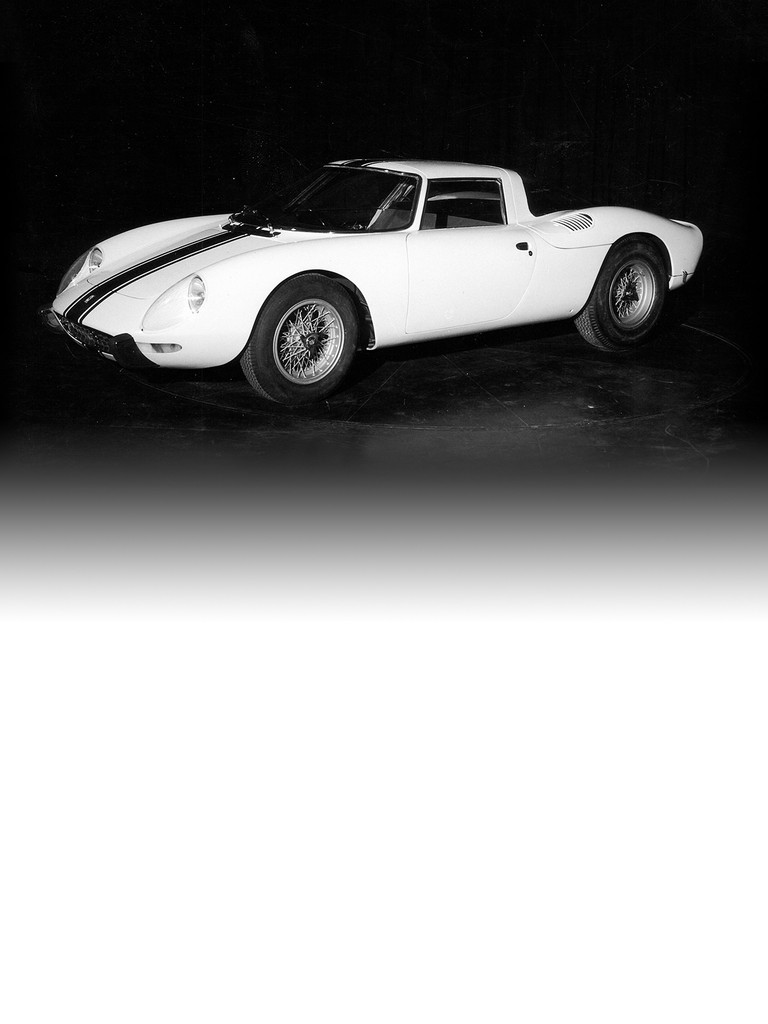Ferrari 250 LM: Presented at the Paris Motor Show in October 1963