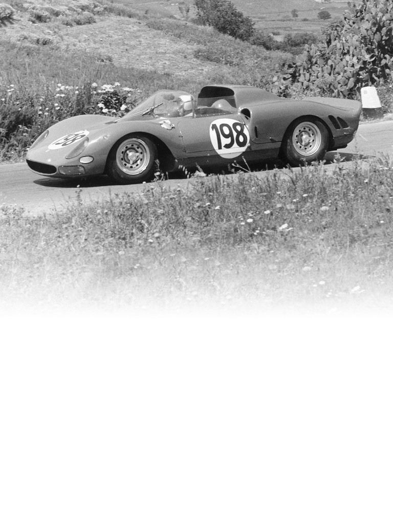 Ferrari 275 P2: The various models in the P series were developed over a period of four years beginning in 1964.
