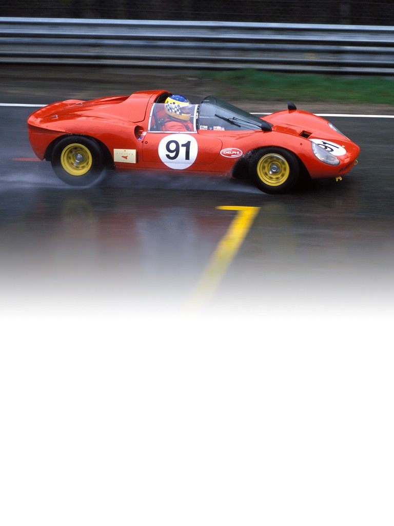 Ferrari 206 sp: This model could best be described as an open-top version of the Dino 166 P with a bigger engine.