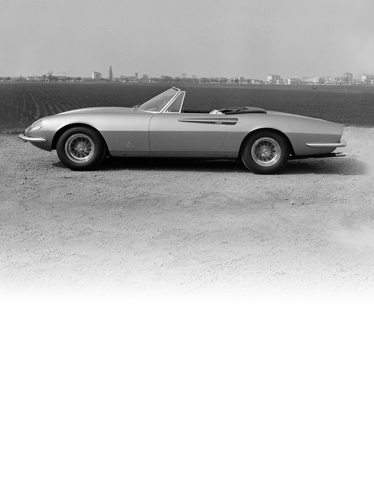 Ferrari 365 California: Presented at the 1966 Geneva Motor Show