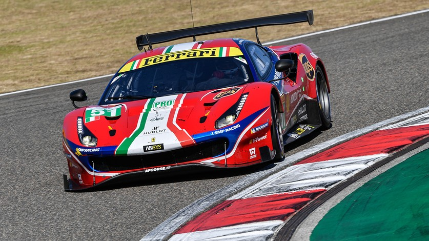WEC - Pier Guidi-Calado second fastest in third free practice session at Shanghai