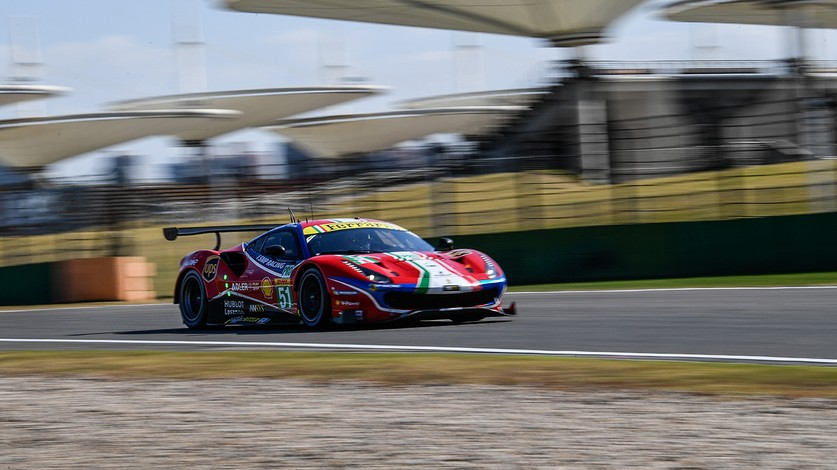 WEC - Second row for Pier Guidi-Calado in 4-hours of Shanghai