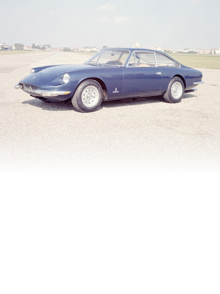 The Ferrari 365 GT 2+2 was presented at the 1967 Paris Motor Show