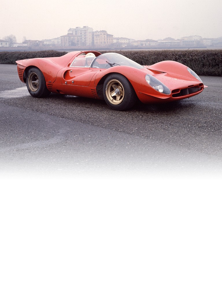 Ferrari 330 P4: this model was powered by a V12 engine