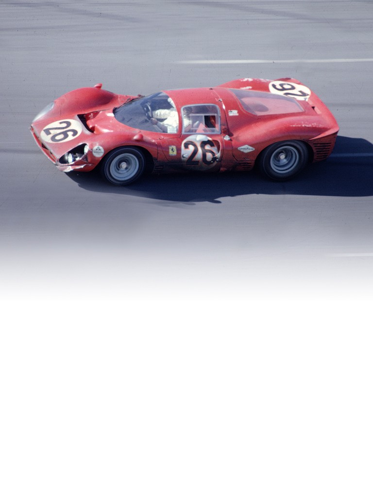This model This model Ferrari 412 P was also known as the P3/4, and was used by Ferrari's privateer customer teams.was also known as the P3/4, and was used by Ferrari's privateer customer teams.