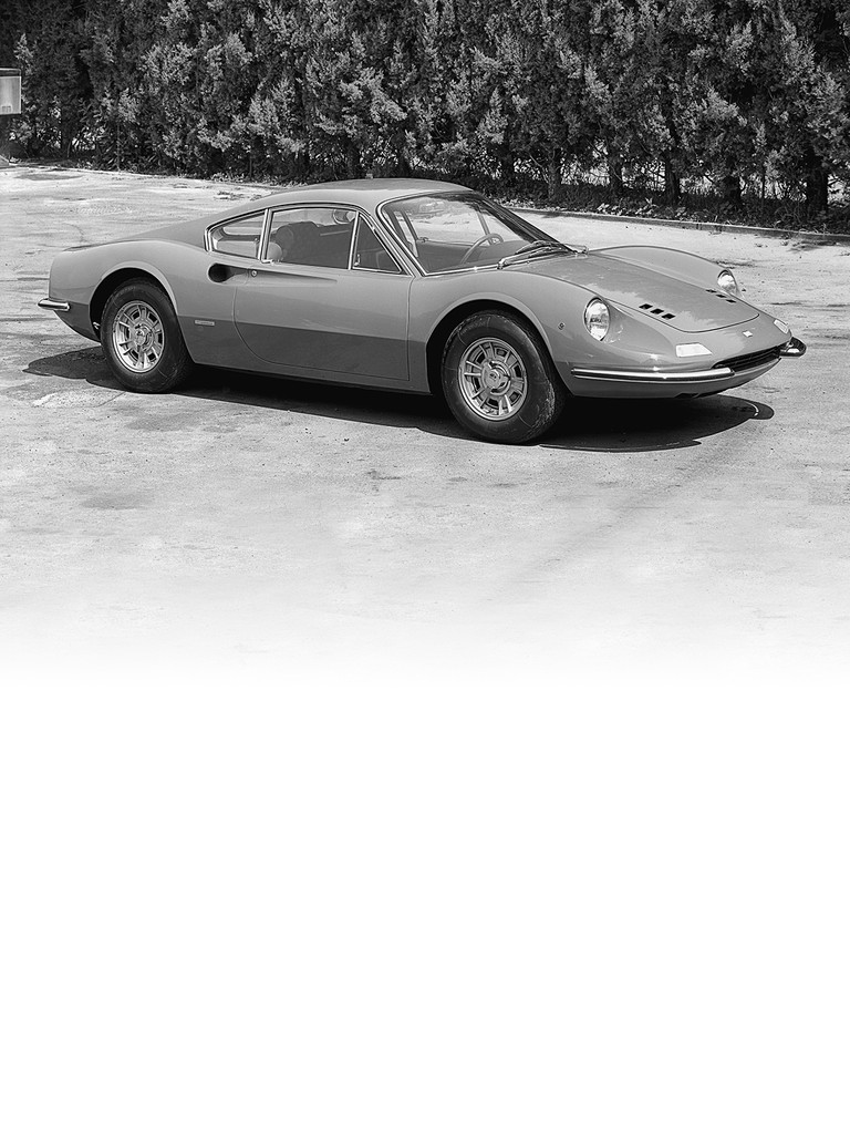 The Ferrari Dino 246 GT was an evolution of the Dino 206 GT