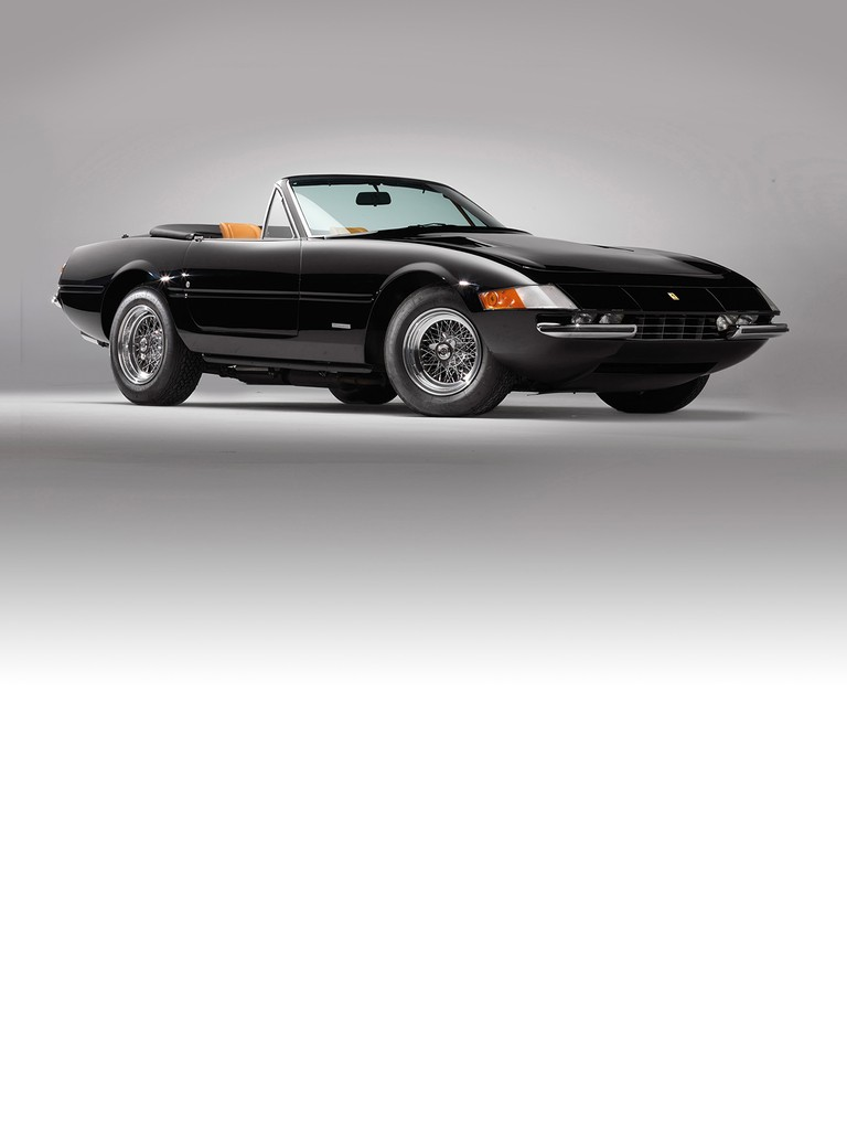 Ferrari 365 GTS: Fed by three Weber carburettors, the 60° V12 was remarkably torquey and had huge reserves of power.
