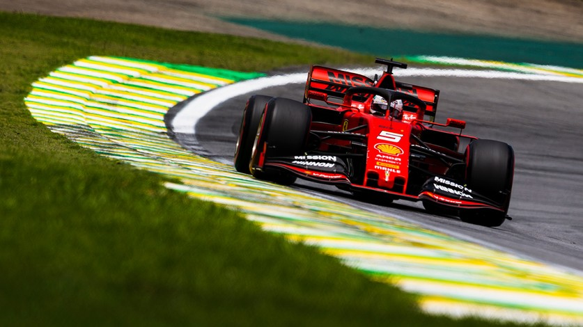 Brazilian Grand Prix - Seb on the front row, Charles starts 14th