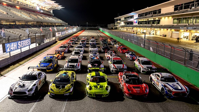 24H Series - HB Racing at the 24H COTA USA