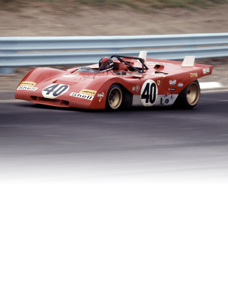 Ferrari 312 P: The new 1971 version of the sports prototype came with a flat-12 engine