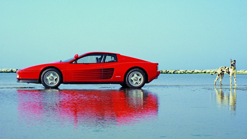 The master and the Testarossa