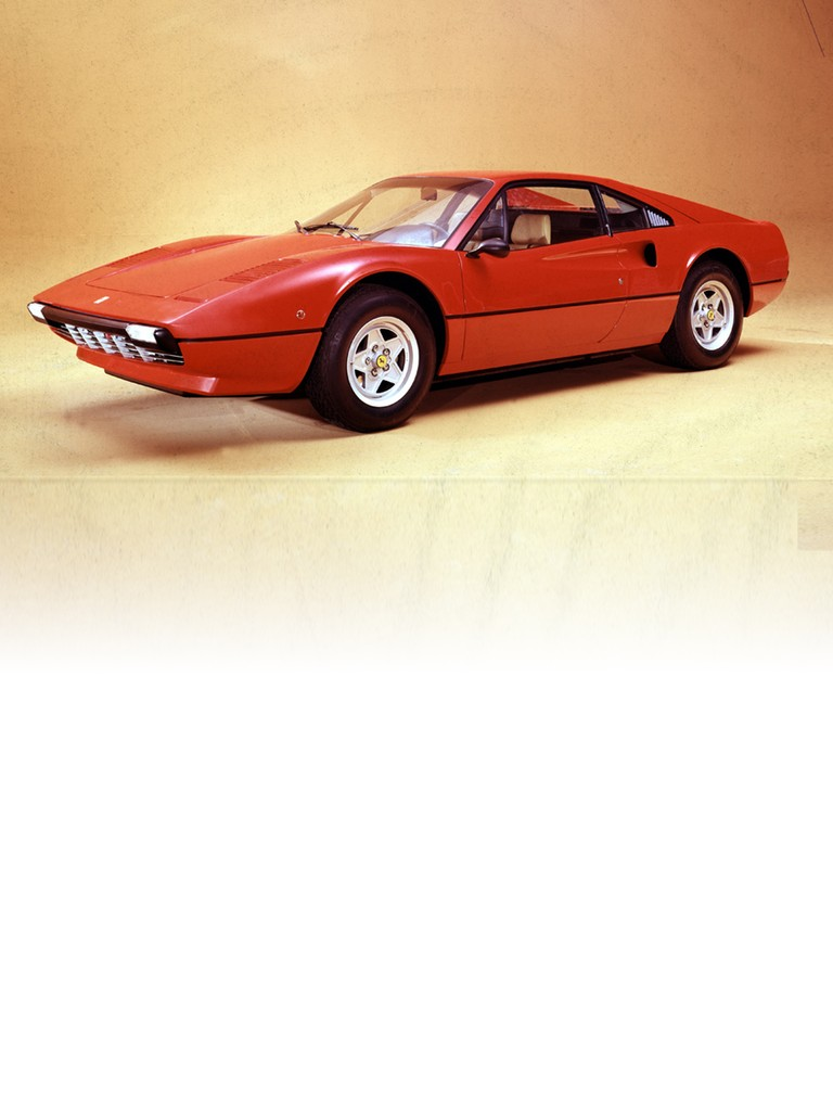 The Ferrari 308 GTB made its debut at the Paris and London shows in 1975.