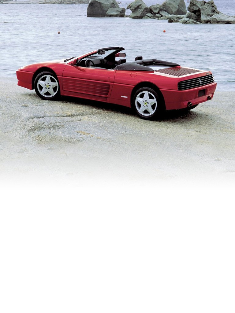 Ferrari 348 Spider: The spiders built by Ferrari have always been a perfect expression of their sporting heritage.