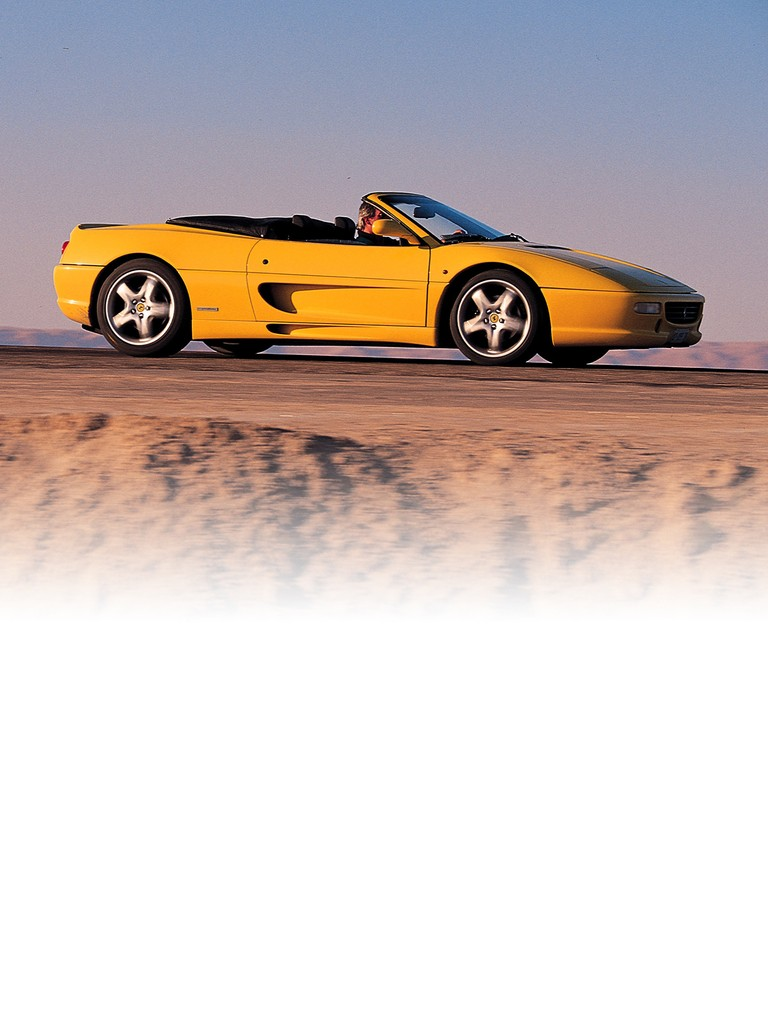 Ferrari F355 Spider: Open sports cars are an integral part of Ferrari tradition