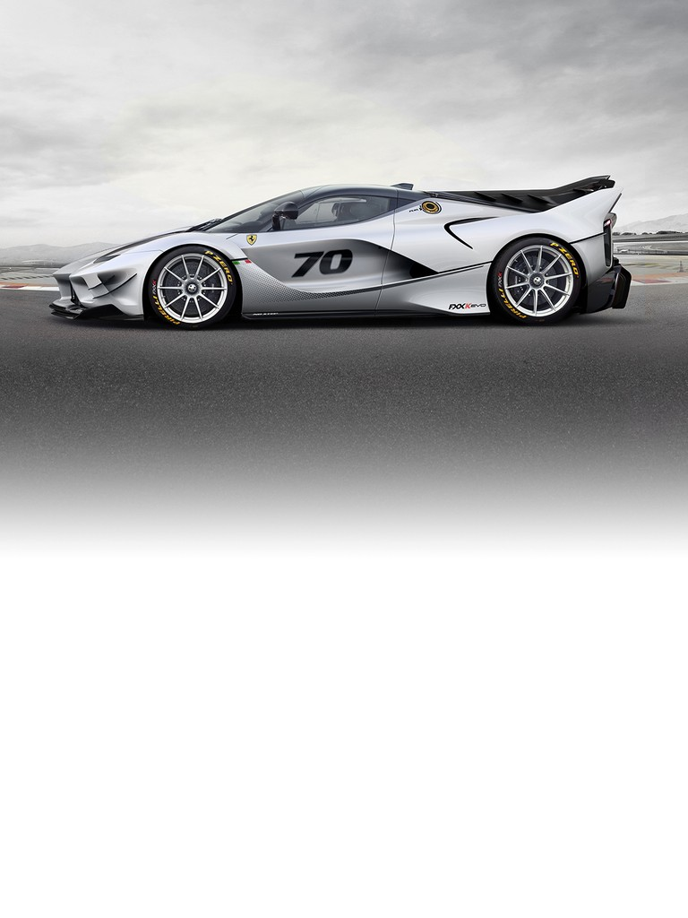 FXX-K is Ferrari's research and development programme centring around a laboratory car based on Maranello's first hybrid.