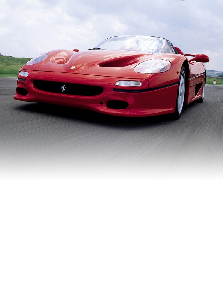 Ferrari F50 - Created to celebrate Ferrari's 50th anniversary