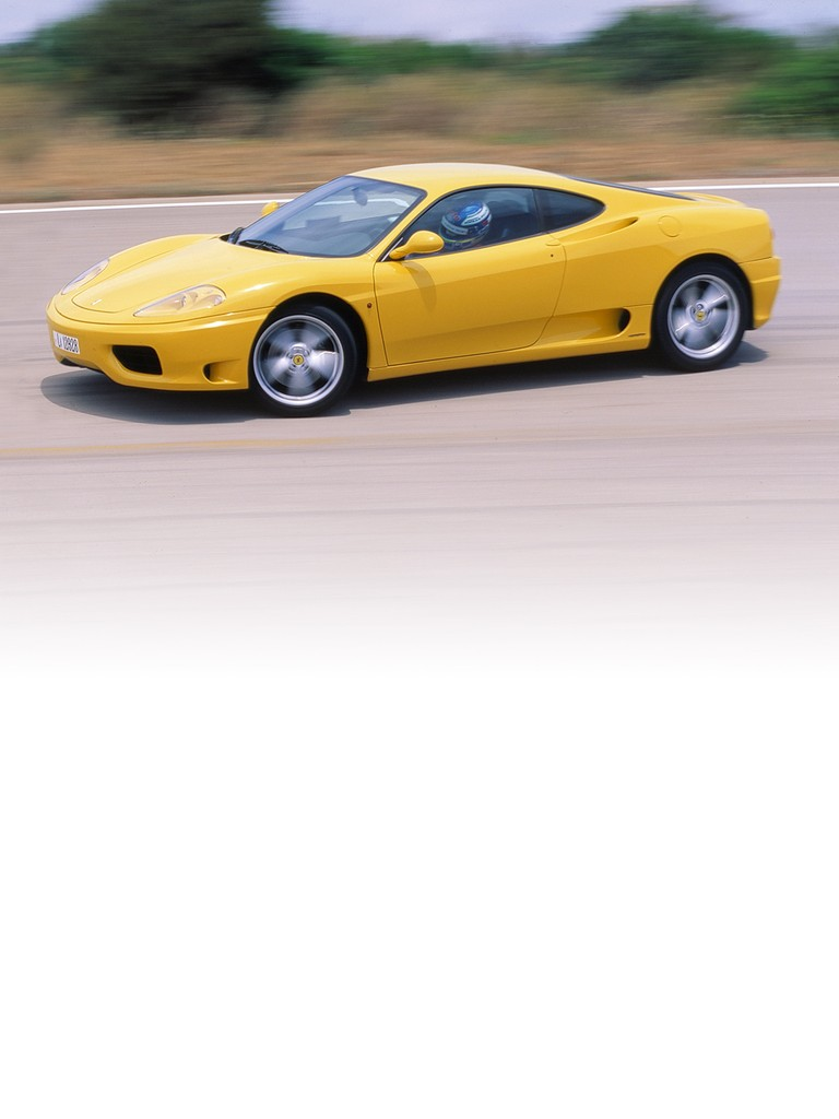 The Ferrari 360 Modena is a clean-sheet design which anticipates trends for future Ferrari road cars. These include lower weight combined with greater chassis rigidity – seemingly contrasting objectives that have been achieved by employing innovative construction technology.