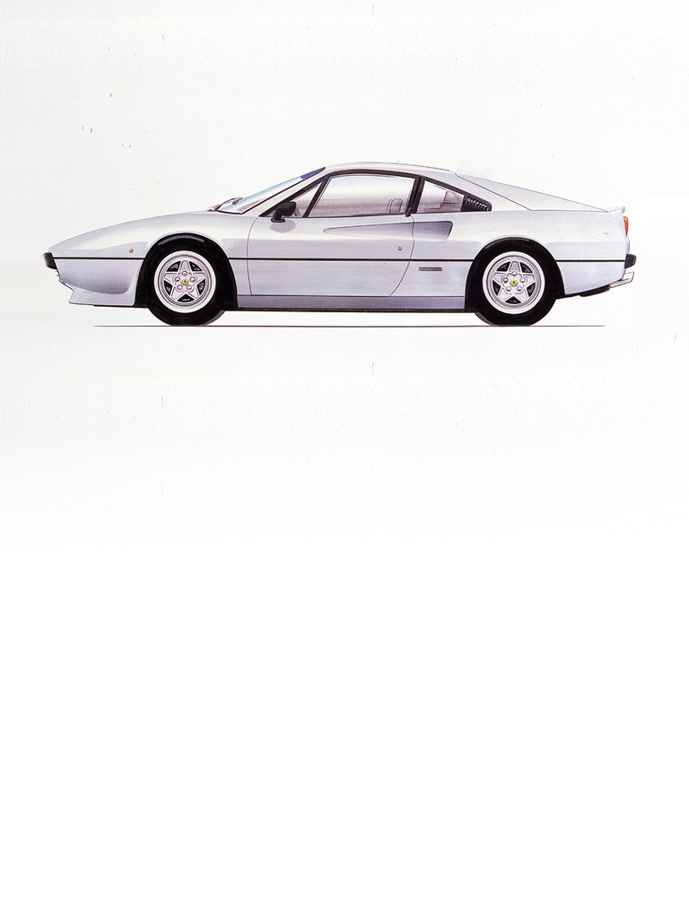 Ferrari 208 GTB: By no means new to the production of smaller displacement, high output, multi-fractioned engines; on the heels of the 1975 208 GT4 Ferrari introduced the smallest displacement version of the 308 GTB – the 208 GTB and GTS – in 1980.