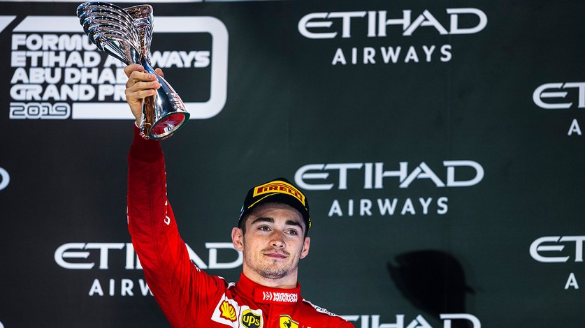 Abu Dhabi Grand Prix - Charles ends the season on the podium