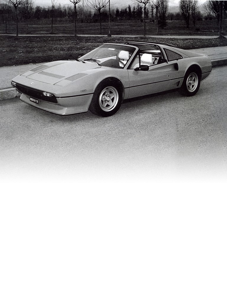 Ferrari 208 GTS Turbo: Turbocharging had taken a strong foothold in Formula 1 racing and the experience gained on the tracks soon made the leap to production with the 208 GTB Turbo, unveiled at the 1982 Turin Motor Show.