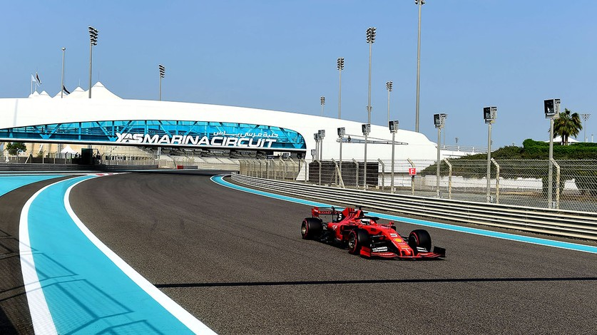 Test 5 Abu Dhabi - 136 laps for Sebastian in the SF90