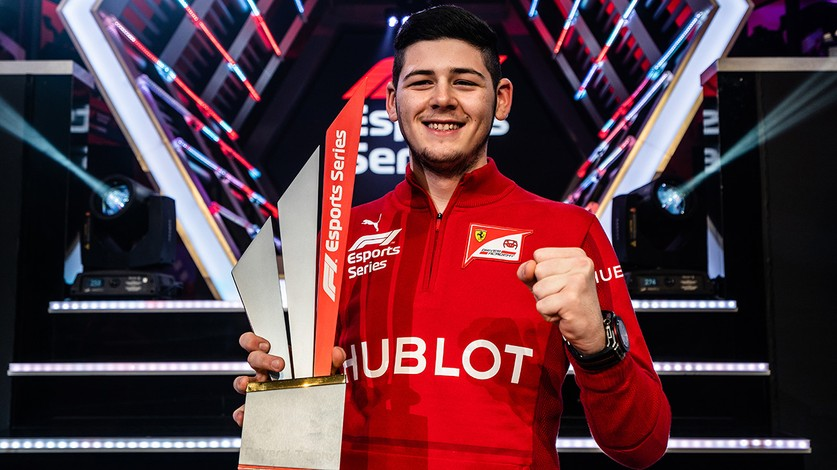 F1 Esports Series - Tonizza and FDA Hublot Esports Team make history as they become World Champions on their first appearance!