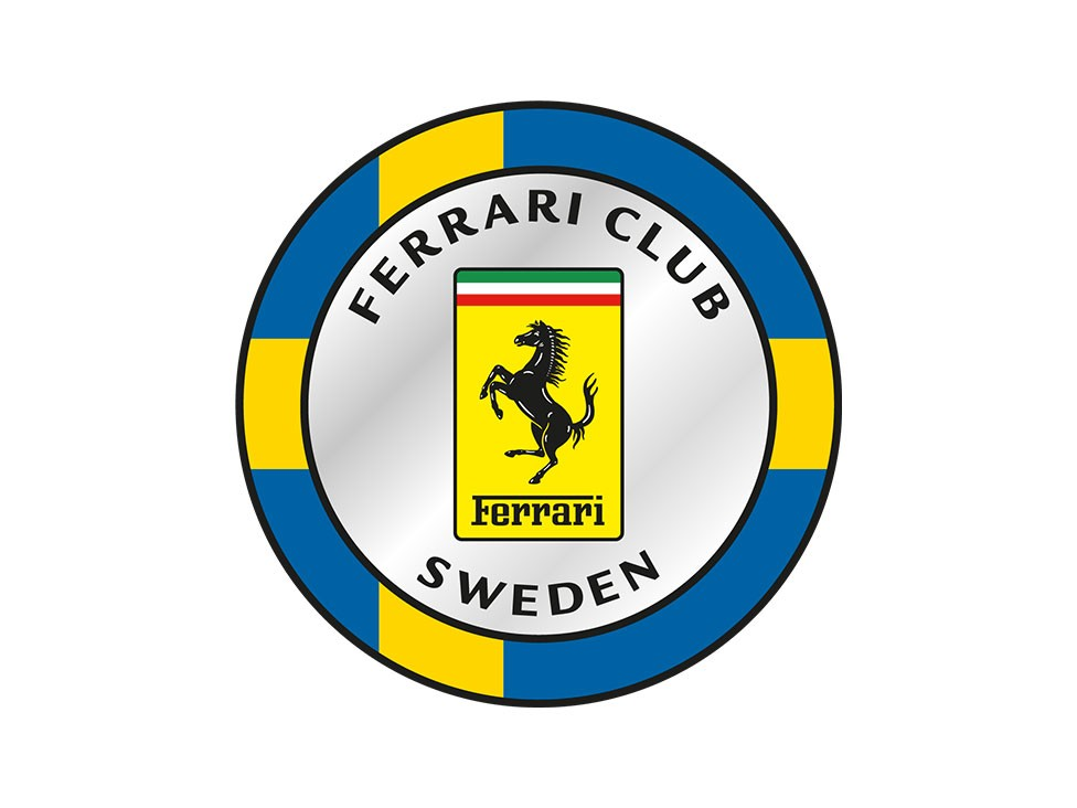 "Ferrari Club Sweden started as ""Ferraristi Svezia"" and was founded in 1973"