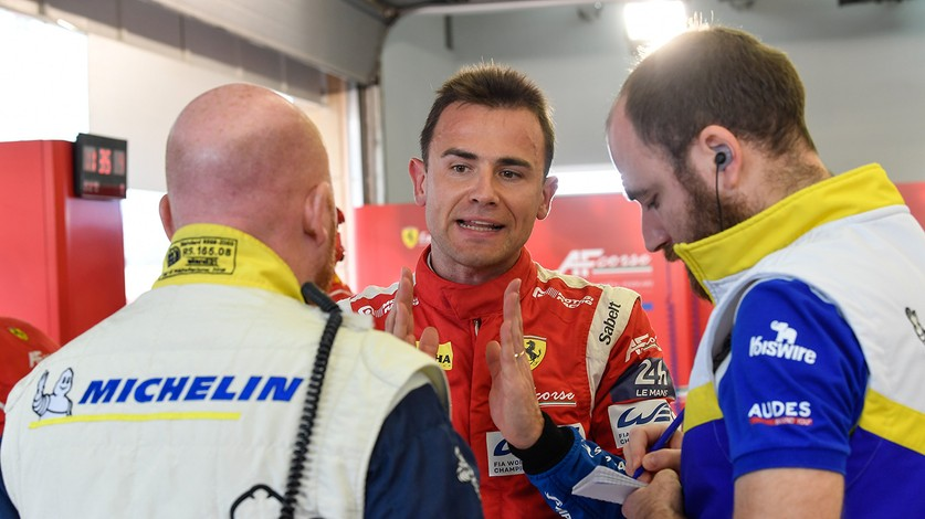 WEC - Car no. 71 post-qualifying drivers' comments