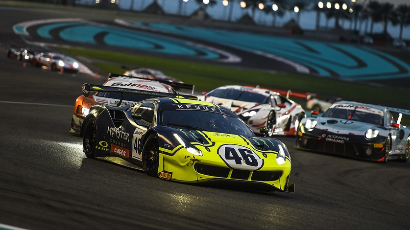 Ferrari leads Pro-Am at midpoint in Gulf 12 Hours