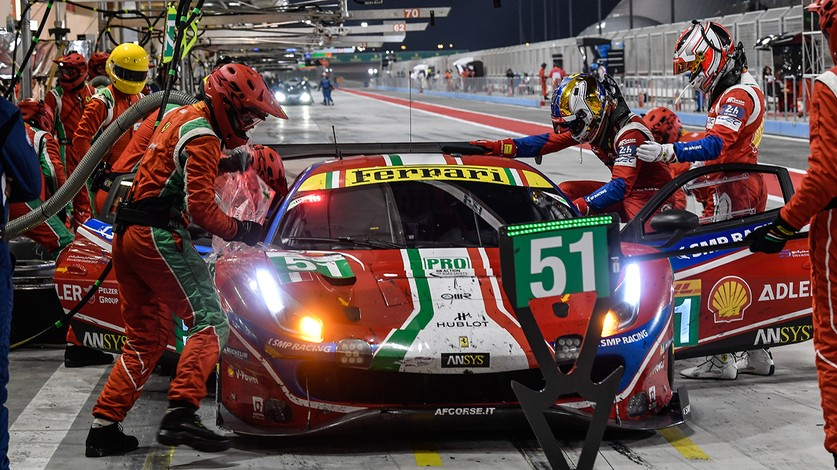 WEC - Comments from Pier Guidi and Calado at the end of the 8 Hours of Bahrain