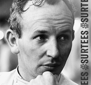 Nine World Titles for John Surtees, a symbol of passion and success in terms of motor sports competitions.