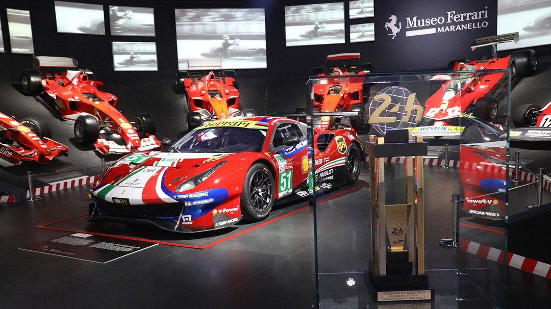 Seventy Years Of Le Mans Triumphs On Display At The Ferrari Museum
