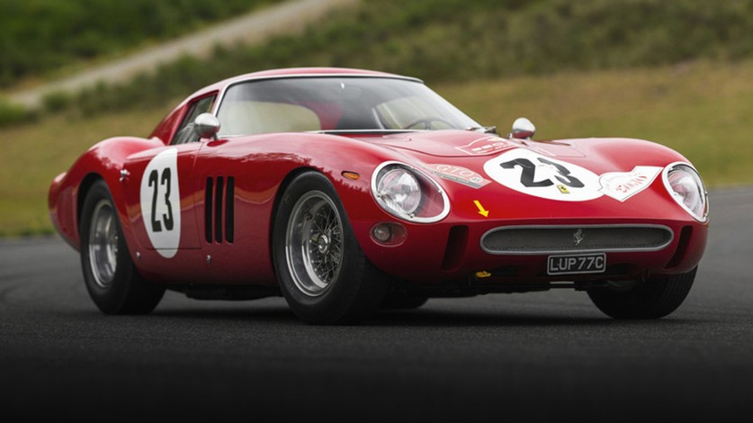 THE ART OF STARTING UP A FERRARI GTO