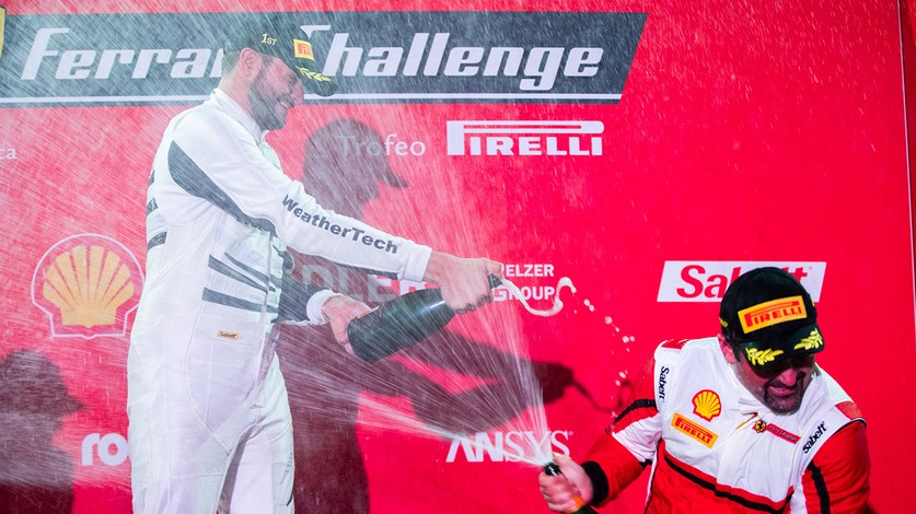 Ferrari Challenge North America - MacNeil and McCarthy win on first night of Ferrari Challenge Daytona