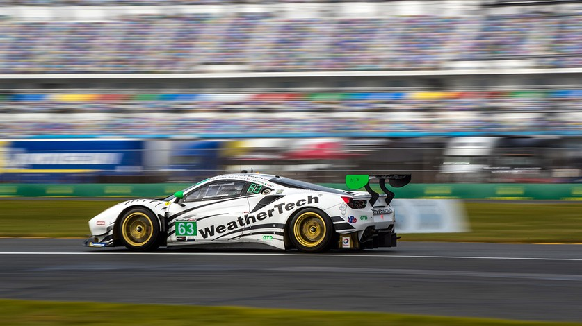 IMSA - Front row for the 488 GT3 Evo 2020 in the Daytona 24 Hours