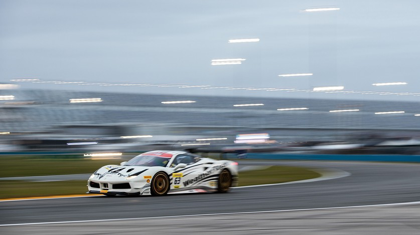 Ferrari Challenge North America - MacNeil and McCarthy on pole in Daytona
