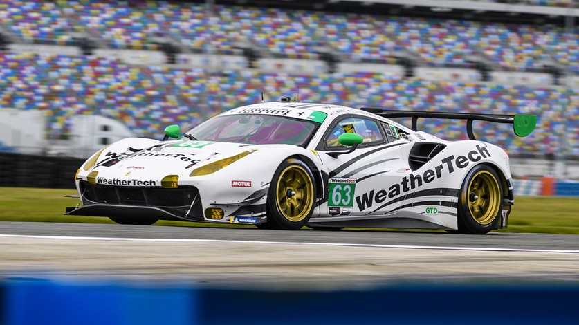 IMSA - Ferrari has clean start to 24 Hours at Daytona