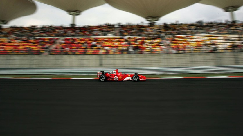 2004 - Schumacher's seventh title