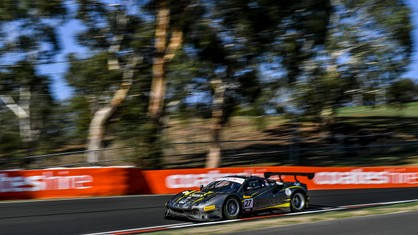 HubAuto Corsa retires after free practice at Bathurst - Intercontinental GT Challenge, Bathurst 12 Hour 2020