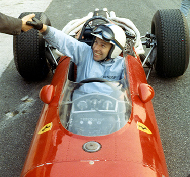 Scuderia Ferrari Hero: John Surtees, a symbol of passion and success in terms of motor sports competitions
